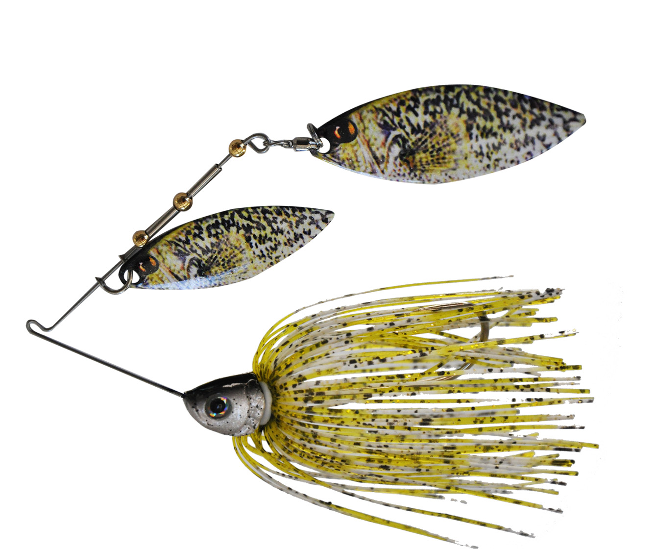Persuader baits releases new imaged blade spinner baits for Spinnerbait bass fishing