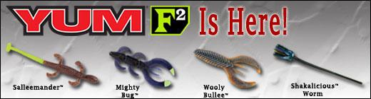 yum soft plastics announces the introduction of f2, Hard Baits